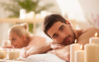 Couples Massage with chocolate back mask   60 min