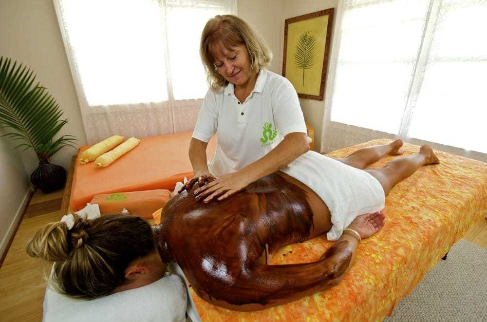 Couples massage with chocolate back massage and feet treatment reg $449