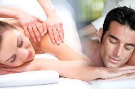 Couples Swedish Massage with chocolate and glass of wine reg. $350
